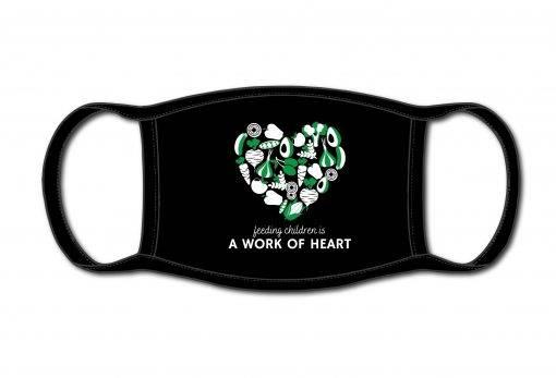 Black Heart Mask