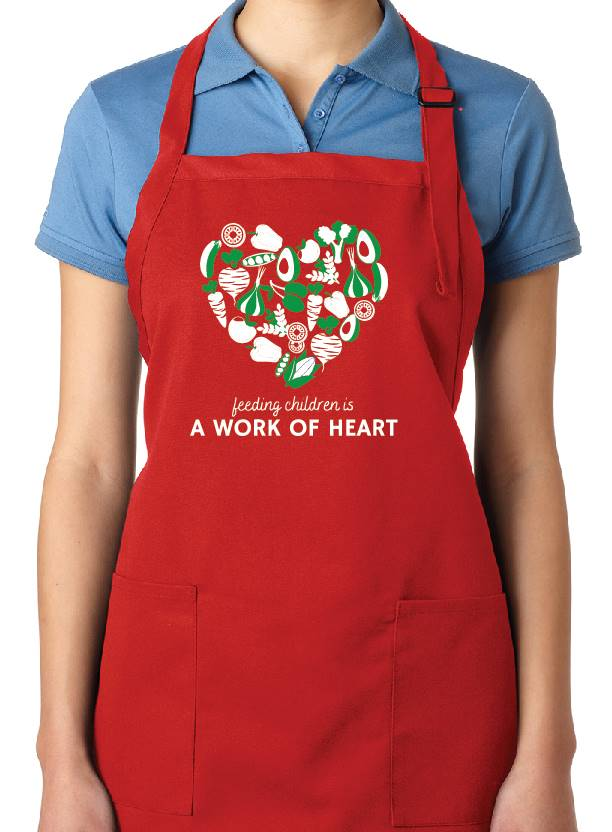 Black Heart Apron
