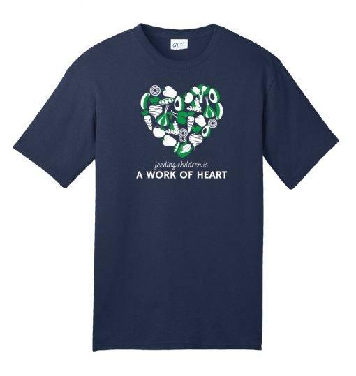 Blue Heart Tshirt