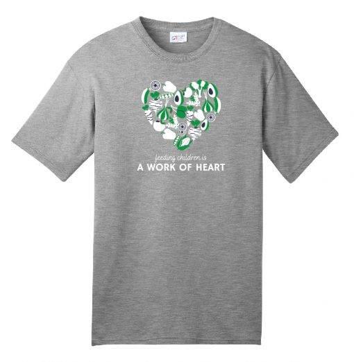 Grey Heart Tshirt